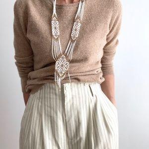 Vintage Cashmere Pullover Knit